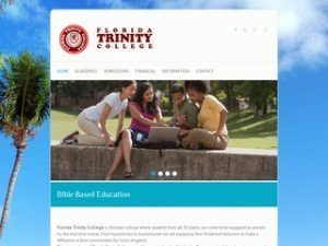 Website for college