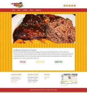 Jamaica Breeze Restaurant & Lounge website