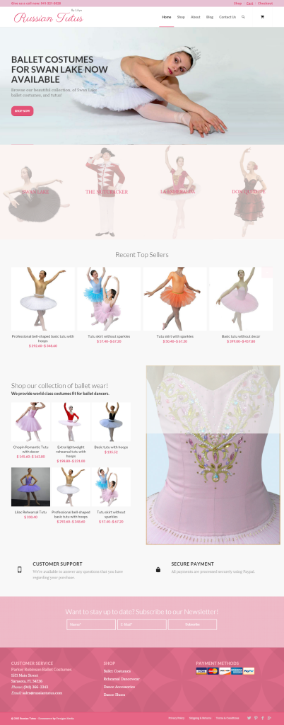 Russian-Tutus-Website