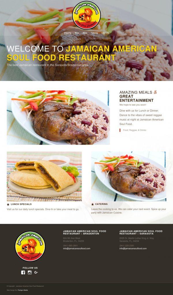 Jamaican-American Soul Food Restaurant