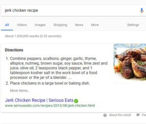 Featured Rich Snippet