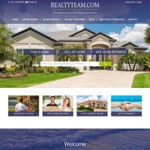 RealtyTeam.com Inc. Website Design