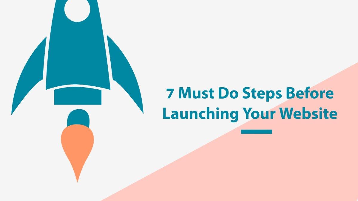 Website Pre-Launch Steps