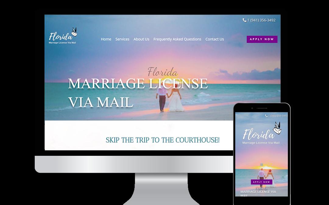 Florida Marriage Licenses Via Mail